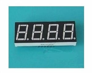50pcs 0 56 Inch Red Led 4 Digit Display 7 Segment Common Cathode Ml