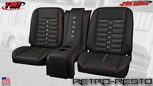 1961 1986 Ford Pickup Truck sport X Complete Bucket Seat Kit W Console
