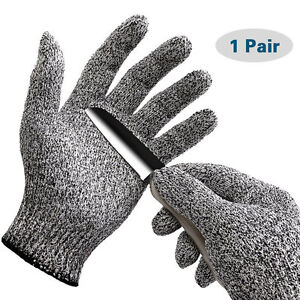 Safety Cut Proof Stab Resistant Stainless Steel Wire Mesh Butcher Gloves