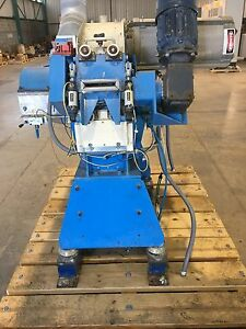 Used Kamas Hammer Mill H 12 Kd With 30hp Siemens Motor