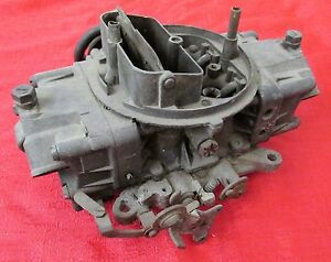 Holley Carburetor 3310 Gm 3878261 035 Date Used For Parts