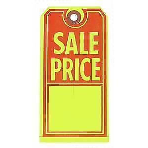 Large Sale Price Merchandise Tags Case Of 1000 56607