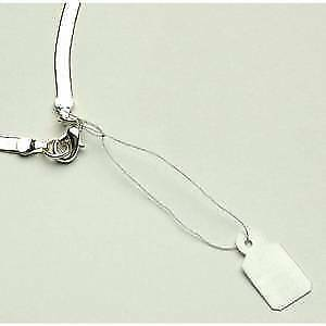 Silver Jewelry Tag 3 8 X 13 16 Case Of 1000 80295
