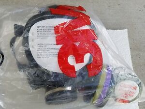 3m Peltor 7884 Full Face Respirator With Filter Fittings Gas Mask Riot Gear 3m