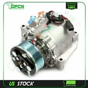A C Compressor For Honda Civic 2006 2011 2008 L4 1 8l Co 4918ac 38810rrba01