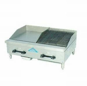 Comstock castle Fhp36 12 2lb Griddle Charbroiler Gas Countertop