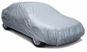 Full Car Cover With Cotton Backing Rain Snow Dust Sun Protection X large 150g