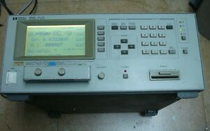 Agilent hp 4284a Lcr Impedance Meters Precision Lcr Meter 20 Hz To 1 Mhz