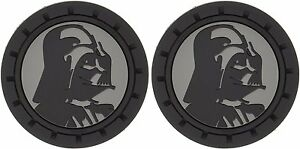 New Disney Star Wars Darth Vader Auto Cup Holder Coasters 2pc Set