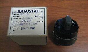 Rheostat 150 Ohm 50 Watts Aircraft Power An3155 50 150 Free Shipping