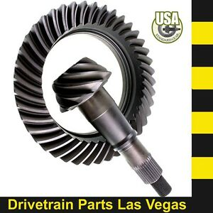Usa Standard Gm Chevy 9 5 14 Bolt Ring And Pinion Gear Set 4 56 Ratio