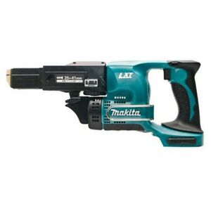 Makita Dfr450z 18v Cordless Li ion Cordless Collated Screw Gun Body Only