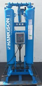 Hankison Dh 260 Air Dryer Industrial Laboratory 260 Scfm At 100 Psig Tank