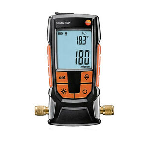 Testo 552 Digital Micron Vacuum Gauge With Bluetooth