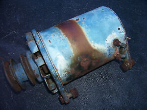 Vintage Ford 6000 Diesel Tractor generator Double Pulley 1963