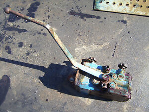 Vintage Ford 6000 Diesel Tractor Remote Hydraulic Valve Lever 1963