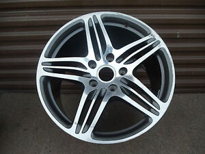Porsche Cayman Boxster 997 911 19 Rear Five spoke Turbo Style Wheel Rim