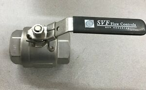 New Svf Flow Controls 2 Stainless Steel Ball Valve Cf8m 1000wog