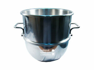Mixer Bowl 40 Qt Stainless Steel New Ships Free Replaces 315245