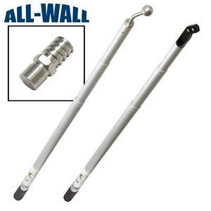 Extendable Drywall Handle Set 3 8 Nail Spotters Angle Heads Corner Rollers