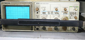 Tektronix 2213a Oscilloscope 60mhz 2 Channel