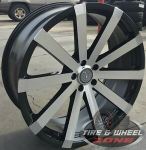 20 Inch V12 Bm Rims Tires Rdx Sebring Avenger Accord Civic G35 Gs300 Camry Cr V