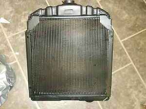 New Ih Farmall C Tractor Replacement Radiator 354875r93