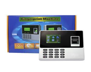 New Arrival Biometric Fingerpirnt Time Attendance Recorder Without Software