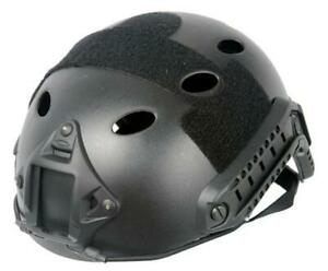 Lancer Tactical Specops Style Helmet Pj W Rails amp; Velcro For Airsoft $40.79