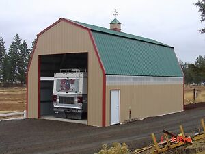 Prefab Steel Quaker Barn Building Many More Sizes