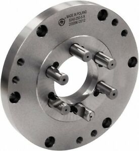 Bison Lathe Chuck Back Plate For Plain Back 5 Inch Chuck D1 4 7 878 054f