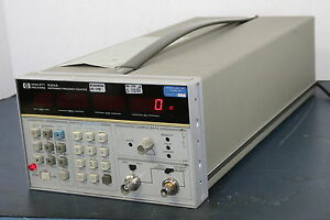 Hp Hewlett Packard 5343a Microwave Frequency Counter