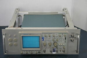 Tektronix 2465 300mhz Oscilloscope 016 0691 00 Rack Adapter