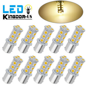 50x 7000k Cool White T10 5050 5smd Led Dome Map License Plate Light Bulb 192 158