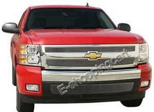 2007 2013 Chevy Silverado 1500 Billet Grille Grill Insert Combo