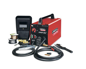 New Lincoln Electric Handy Mig Flux Cored Welder Machine
