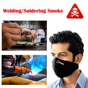 10pcs Outdoor Air Dust Anti Smoke Protector Face Mask Activated Carbon Filter