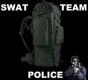 Swat Team Police Gear Bag Outdoor Military Rucksacks Tactical Backpack