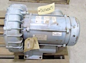 Gast Regenair R6p155q 50 Regenerative Blower Used Sold As Is