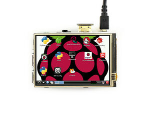 Waveshare Touch Screen Lcd 3 5inch Ips Hdmi Interface 480x320 For Raspberry Pi