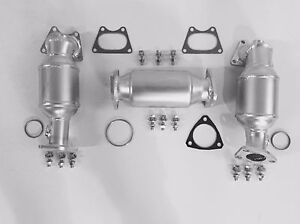 Fits 2006 2007 2008 Honda Ridgeline 3 5l V6 P S D S Rear Catalytic Converters