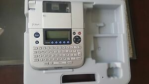Brother P touch Electronic Labeling System Label Maker Printer 3 5 18mm