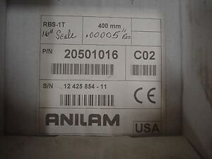New Anilam Encoder Scale 16 Inch 20501016 Rbs 1t