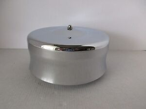 Chrome 6 3 8 Dome Style Air Cleaner 5 1 8 4 Bbl Fits Hot Rod Rat Rod S1103
