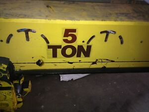 5 Ton Self Traveling 20 Span 200 Ft Of Rail 2 Available
