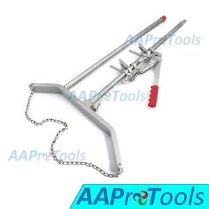 Aa Pro Calf Puller Mechanical Calving Aid Nickle Plated Rod Premium Quality