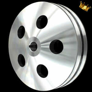 Billet Chevy Power Steering Pulley Keyway Style Bbc And Sbc Long And Short Pump