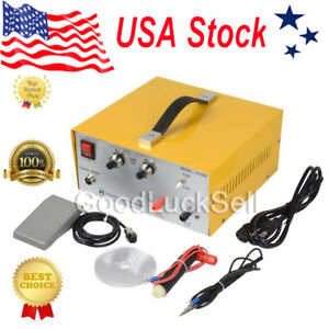 2in1 Pulse Sparkle Spot Welder Gold Silver Platinum Jewelry Welding Machine 110v