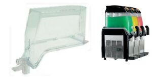 Transparent Tank With Dowel For Elmeco First Class Millennium Slush Machines