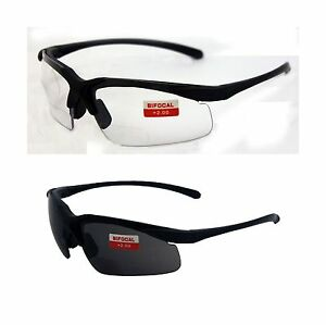 Two Pairs Of Apex 2 0 Bifocal Safety Glasses One Pair With Clea Free Shipping